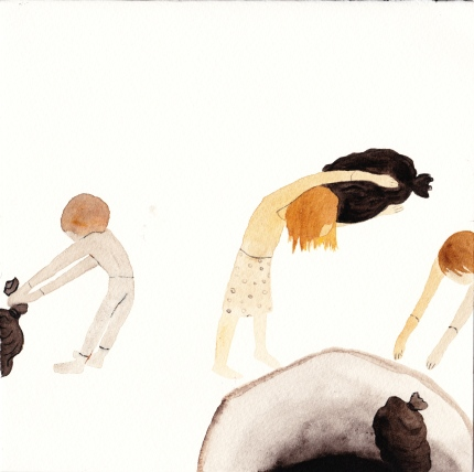 Watercolor, 21*21cm, 2011