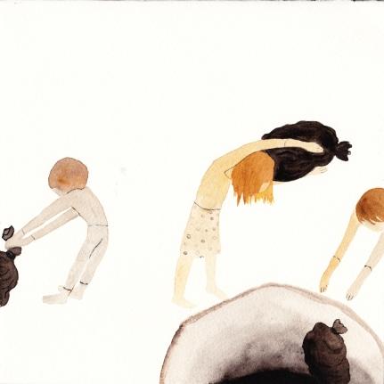 Watercolor, 21*21cm, 2011