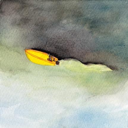 Watercolor, 16*16cm, 2012