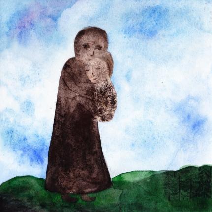 Watercolor, 20*20cm,2010
