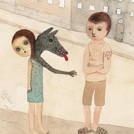 Watercolor 16*15 cm, 2012