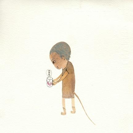 Watercolor, 20*20 cm, 2014