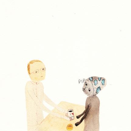 Watercolor, 20*20 cm, 2013