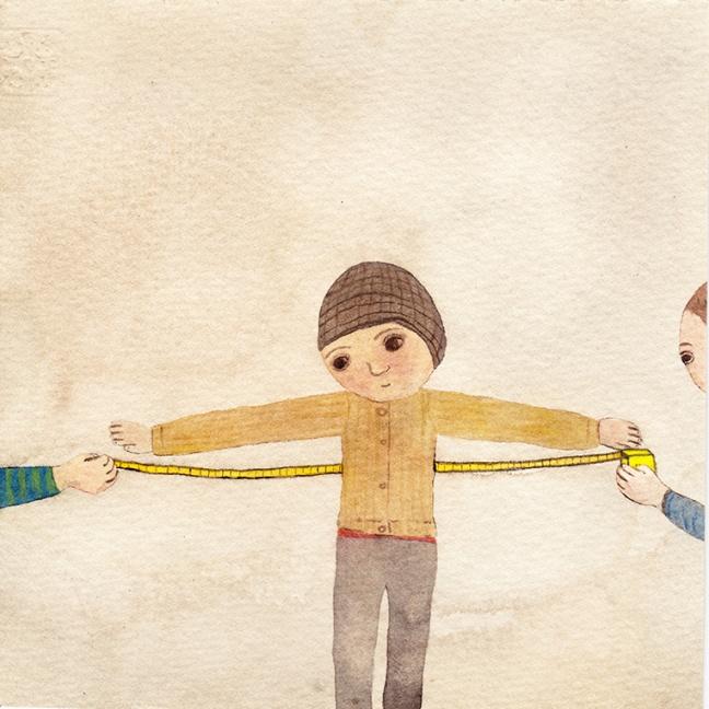 Watercolor, 15*15cm, 2014