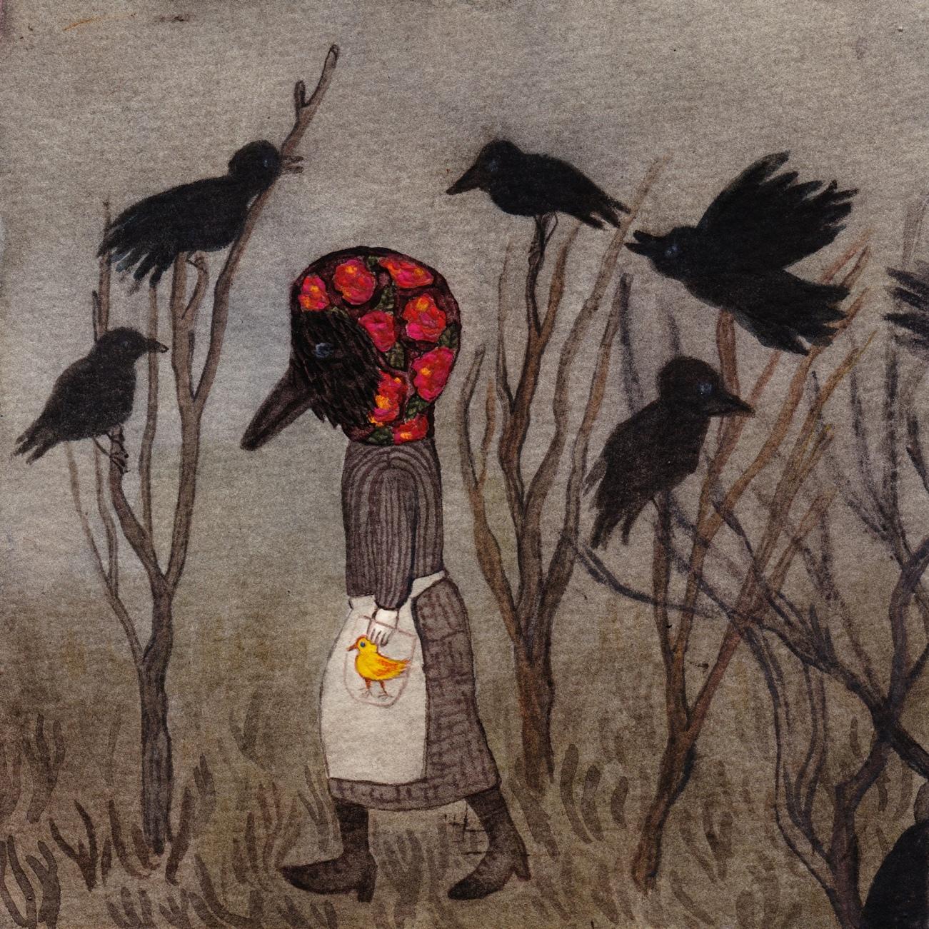 Watercolor, 15,5*15,5cm, 2014