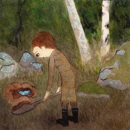 Watercolor, 12*12cm, 2011