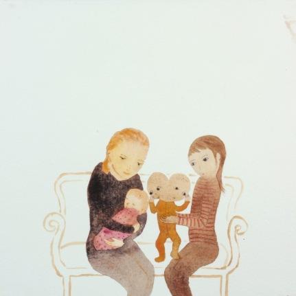 Watercolor, 20*20cm, 2011