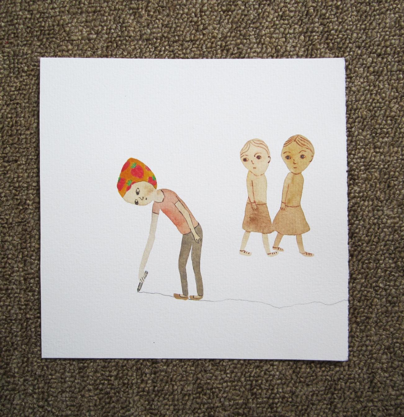 Watewrcolor, 20*20cm, 2012