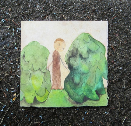 Watercolor, 15*15cm, 2012