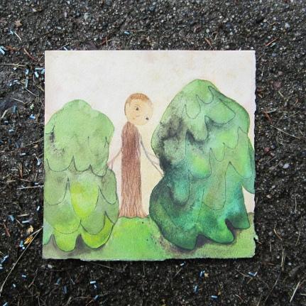 Watercolor, 15*15cm, 2012