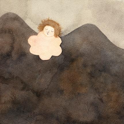 Watercolor, 16,5 cm x 16,5 cm, 2017